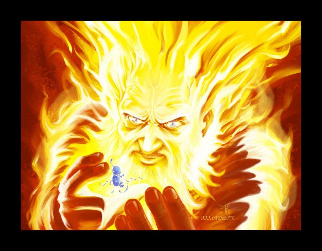Fire & Ice - auteur : iamo'i's