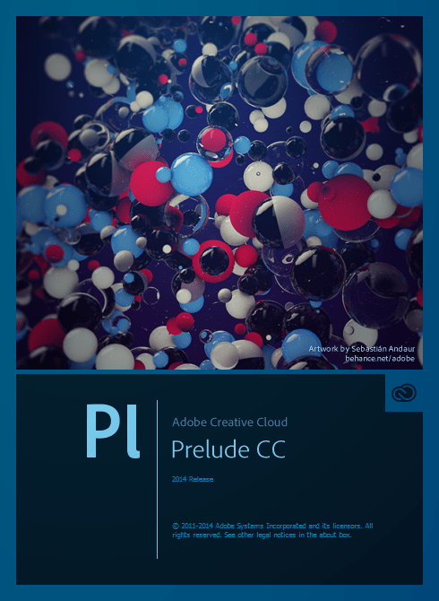 Adobe Prelude, Creative Cloud 2014