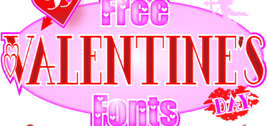 99 Ways to Type 'I Love You' with Free Valentine's Day Fonts