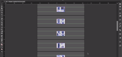 Giving Yourself More Room with Larger Pasteboards - InDesign Tip of the Week