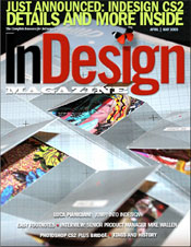 Cover of InDesign Magazine