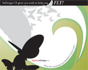 Fly with InDesignCS 1st Runner-Up