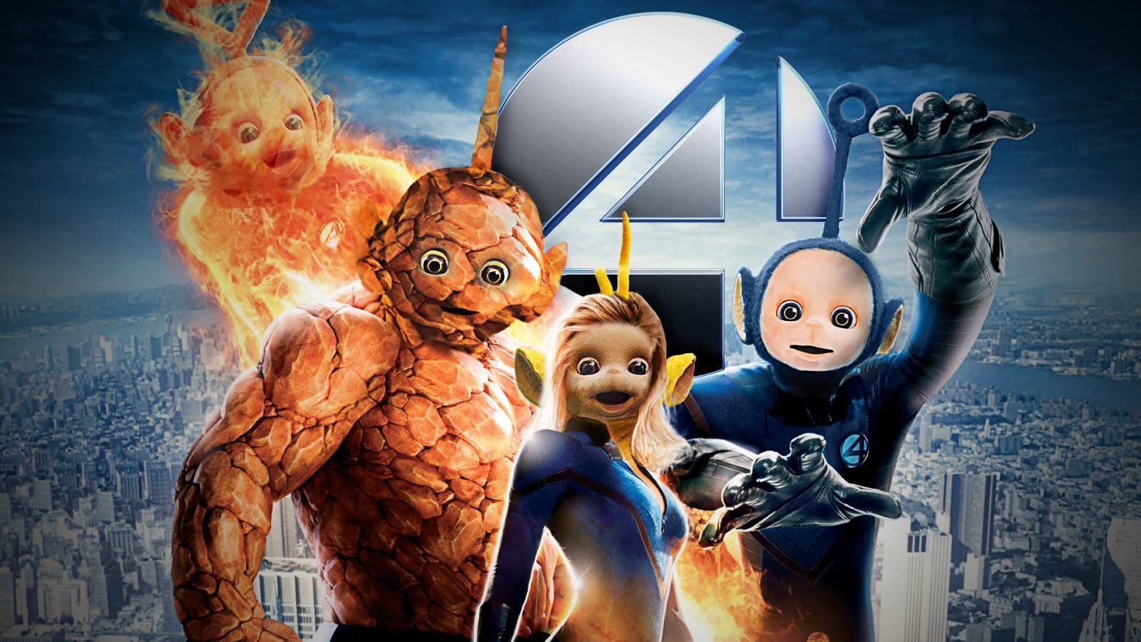 Fantastic Four Photo manipulation