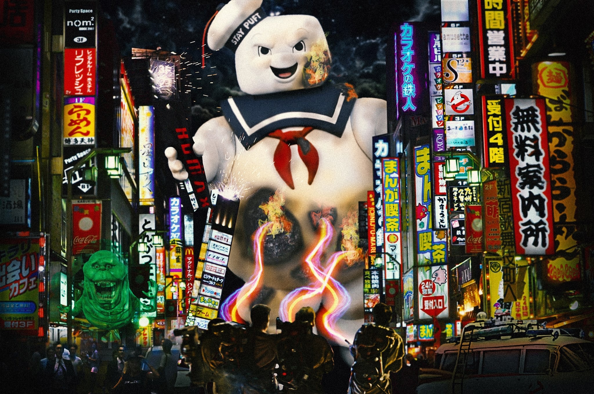 Hong Kong Ghostbusters Photo Manipulation