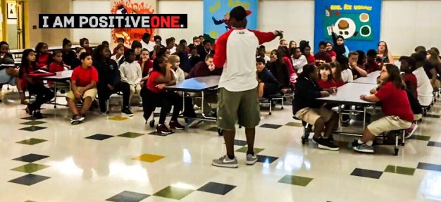 Lee Williams Empowering Youth at N.B. Mills Middle school