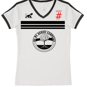 Custom Ladies OMG Soccer Shirt