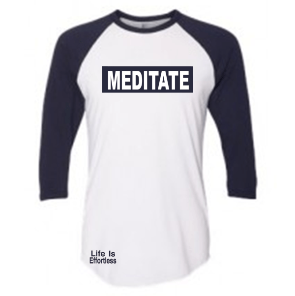 Meditate 3/4 Sleeve T-Shirt