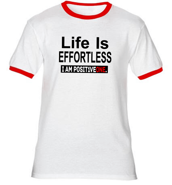 Life Is Effortless Ringer T-Shirt