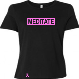 Meditate Ladies Breast Cancer Awareness