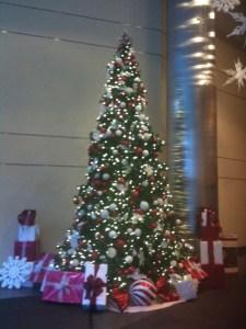 2011 Work Lobby Tree