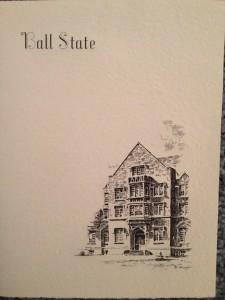 1939 Ball State Grad Invite
