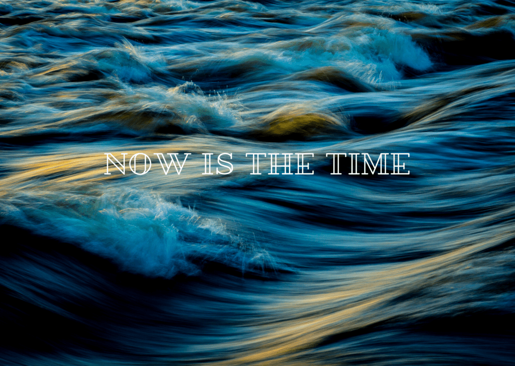 Now is the Time // A Poem for Now