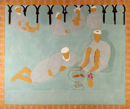 Henri Matisse: Arab Coffeehouse