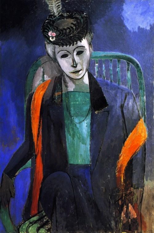 Henri Matise: Madame Matisse