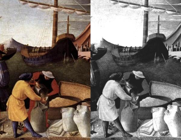 Fra Angelico - Shipment of Grain