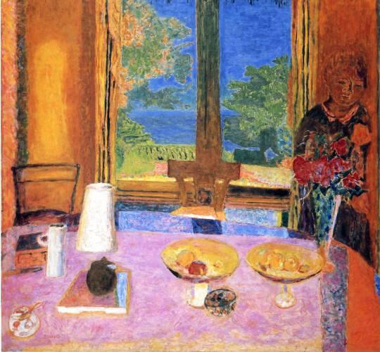 Pierre Bonnard, Dining Room on the Garden