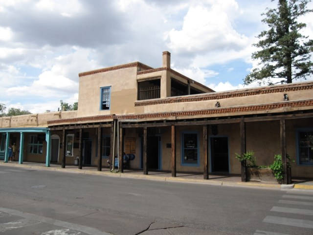 Downtown Santa Fe - Forked Lightning Ranch