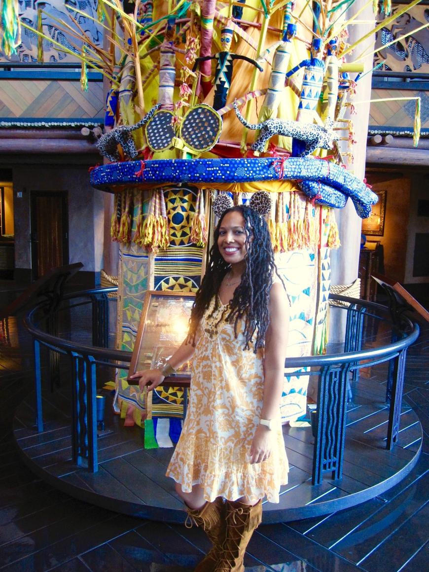 Princess Tiana - Disney World - Animal Kingdom Lodge - http://iamsherrelle.com