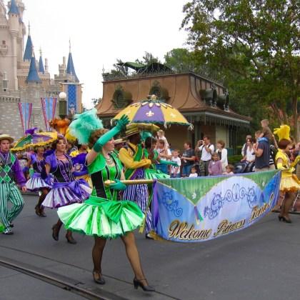Princess Tiana arrives - Disney World - http://iamsherrelle.com