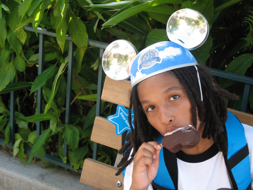 How To Save Money At Disney World - Mickey Ice Cream Bar - http://iamsherrelle.com