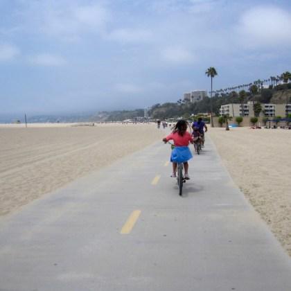 Bike Santa Monica Beach http://iamsherrelle.com