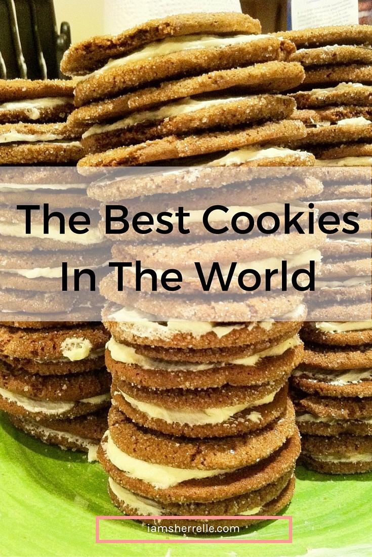 Gingerbread and Lemon Sandwich Cookies   baking -Sherrelle