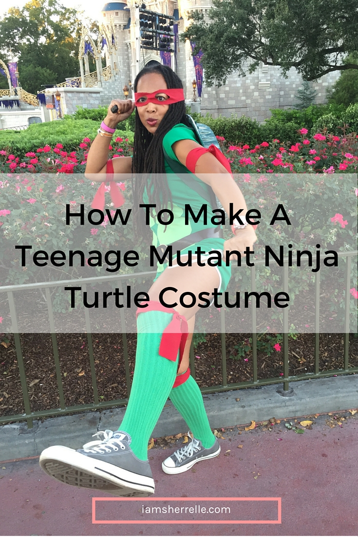 Easy directions on how to make a Teenage Mutant Ninja Turtle costume. | DIY - Sherrelle