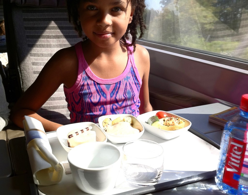 London Eurostar meal http://iamsherrelle.com