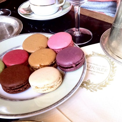 French macarons - Laduree - http://iamsherrelle.com