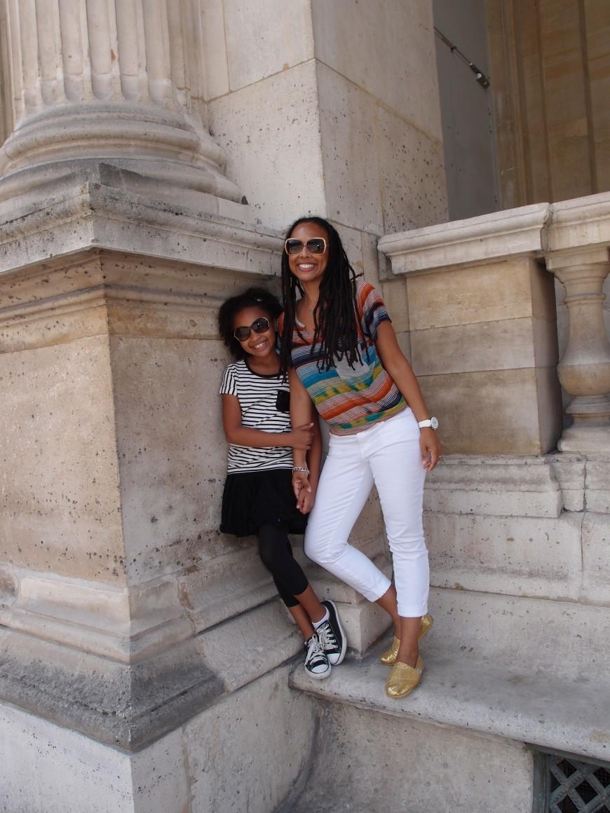 Outside Louvre http://iamsherrelle.com