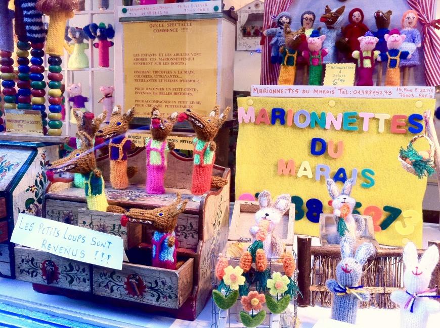Paris Alone - Paris Finger Puppet Boutique - http://iamsherrelle.com