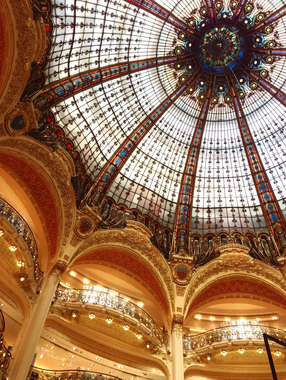 Paris Alone - Galeries Lafayette -http://iamsherrelle.com