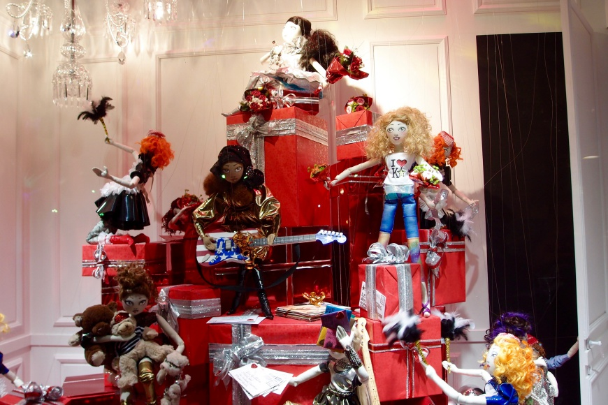 Galeries Lafayette window display