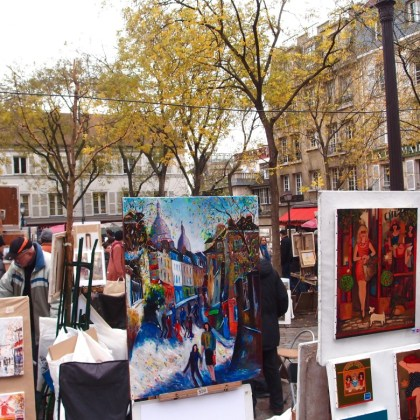 Explore Paris Alone Sacre Coeur -artists http://iamsherrelle.com