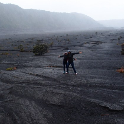 Live out loud - Hawaii volcano hike http://iamsherrelle.com