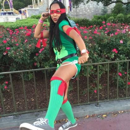 Teenage Mutant Ninja Turtle Costume http://iamsherrelle.com