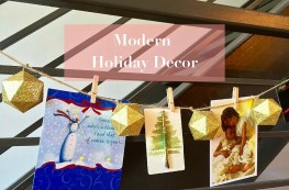 Modern Holiday Decor http://iamsherrelle.com