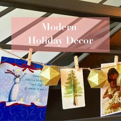 Modern Holiday Decor http://iamsherrelle.com