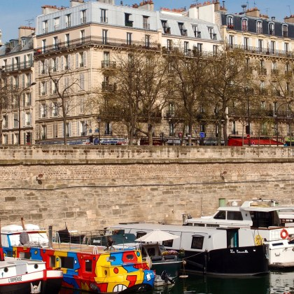 Paris in 4 Days - Port de L'arsenal, Paris