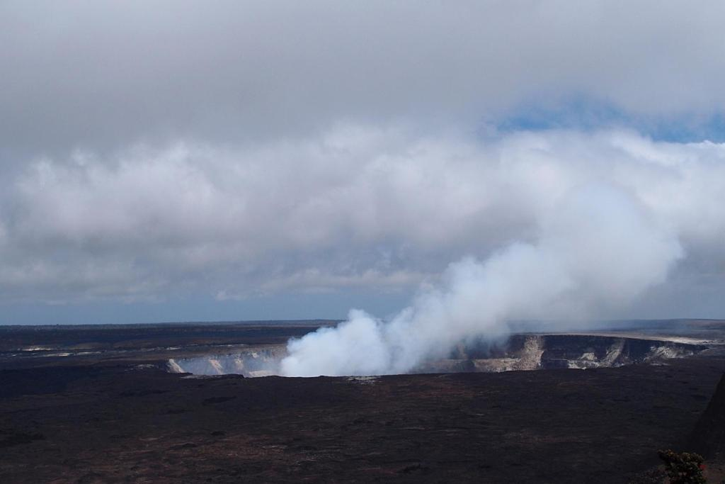 Visiting Halema'uma'u Crater in Kilauea Caldera is one of the 7 Things You Must Do On The Big Island, Hawaii