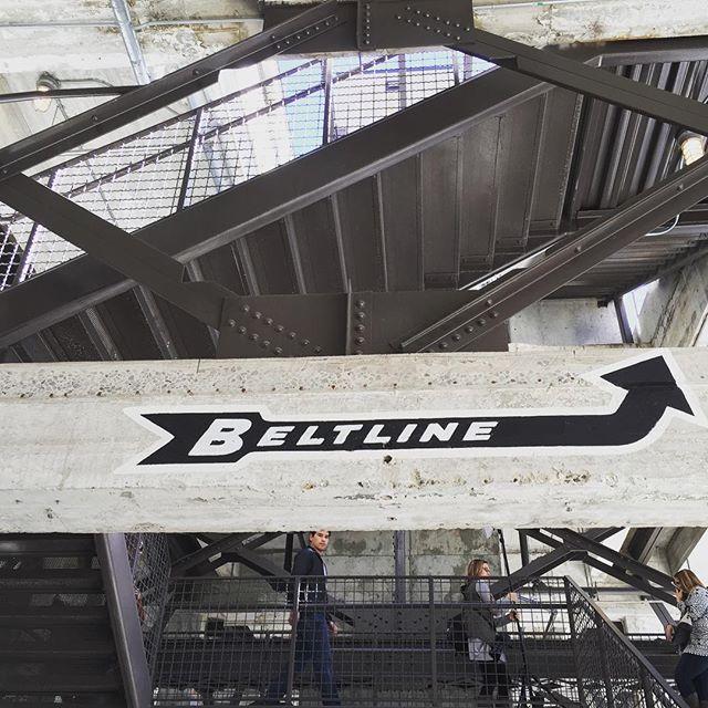 10 Things I Love About Atlanta. - Sherrelle | beltline | Ponce City Market