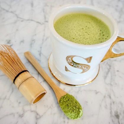 A recipe for bulletproof matcha latte.