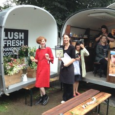 Lush Cosmetics stall & workshop space