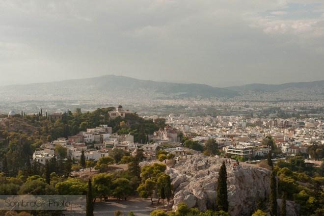 atenas vista acropolis