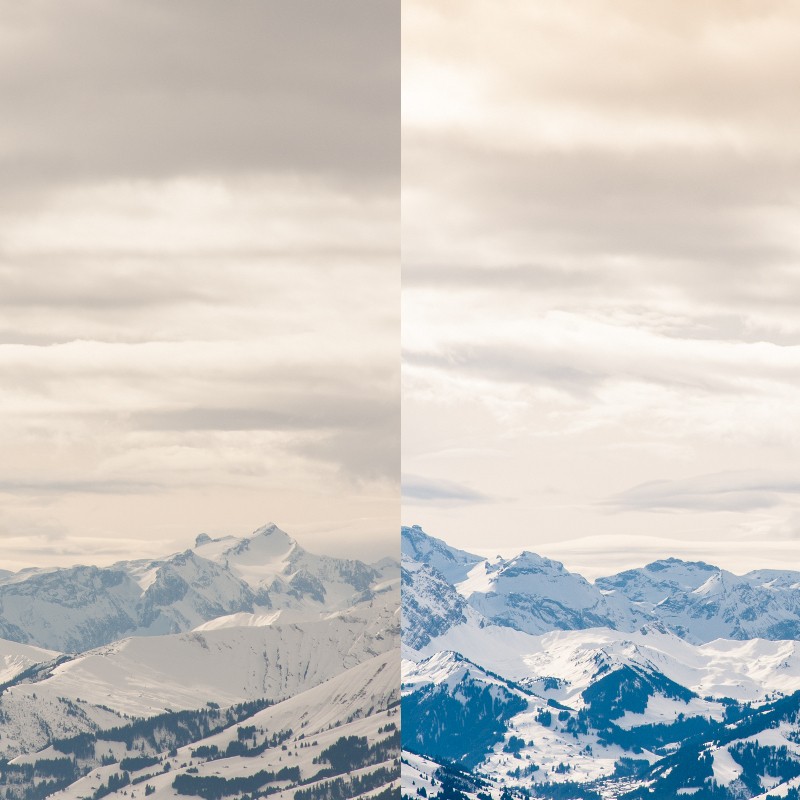 { Making-of } : editando un paisaje nevado en Lightroom