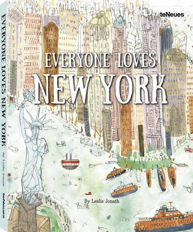 everyone loves new york illustration