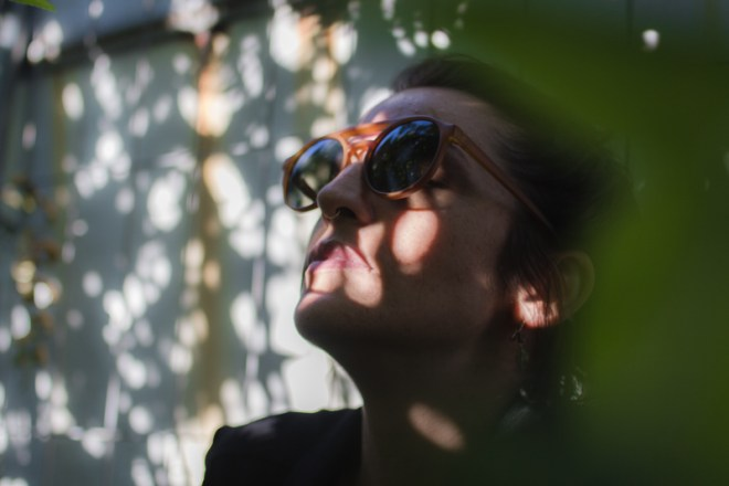 iamsombra ximena sunshine outdoor portrait