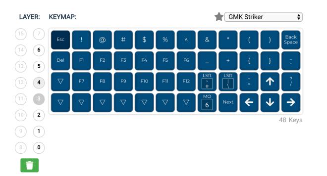 Planck Layout