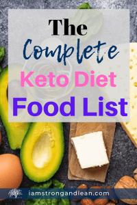 a list of food for ketogenic diet