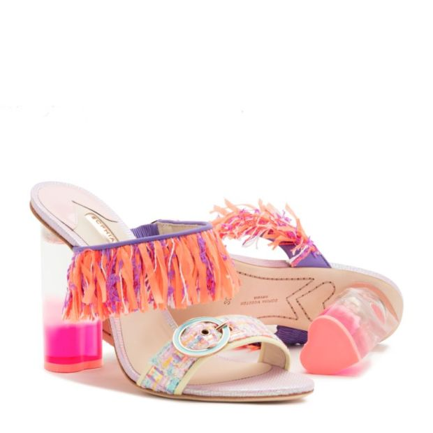 d1ec61290df Speaking of the heel can we get into the neon pink perspex heart shaped  detail. If thats not enough reason to talk yourself into splurging I don t  what is.